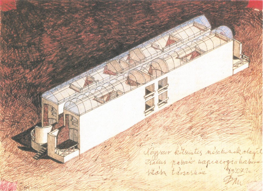 Bán Ferenc Low Energy apartment house